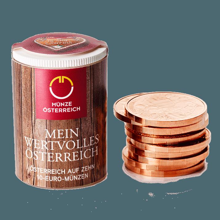 Bundesländer Serie 10 Euro Kupfermünzen