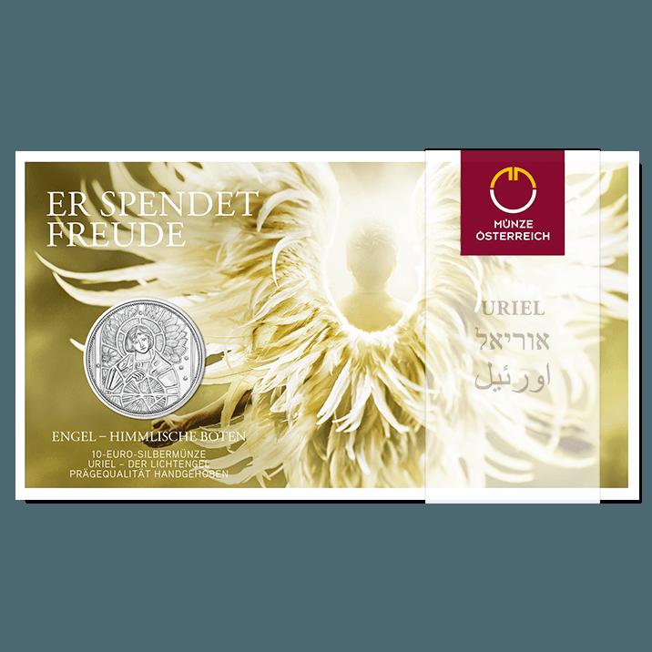 Uriel Der Lichtengel 10 Euro Silbermünze