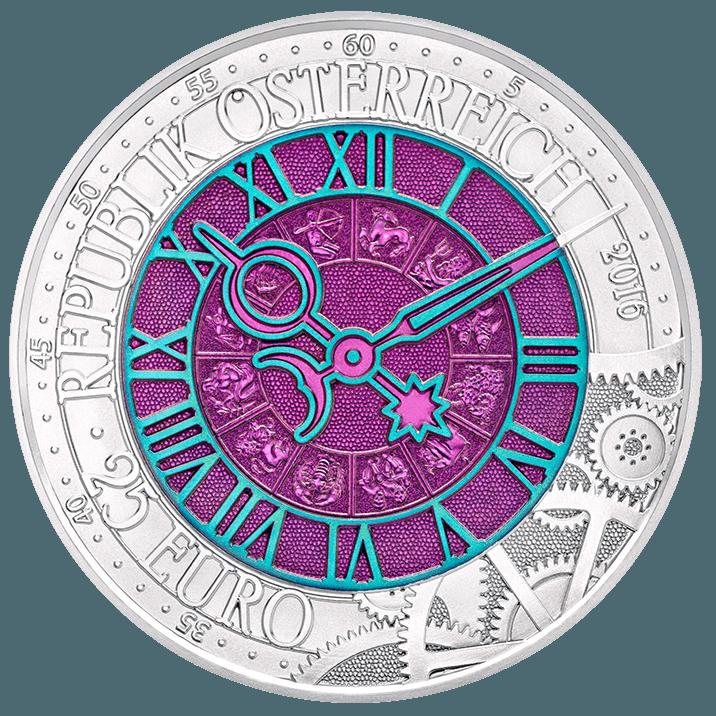 Die Zeit 25 Euro Silber Niob Münze Von Münze österreich