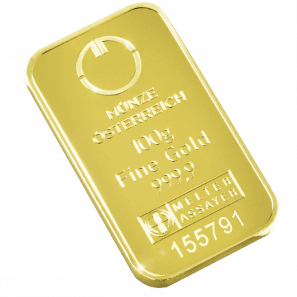 100 Gramm Goldbarren Eine Glänzende Wertanlage