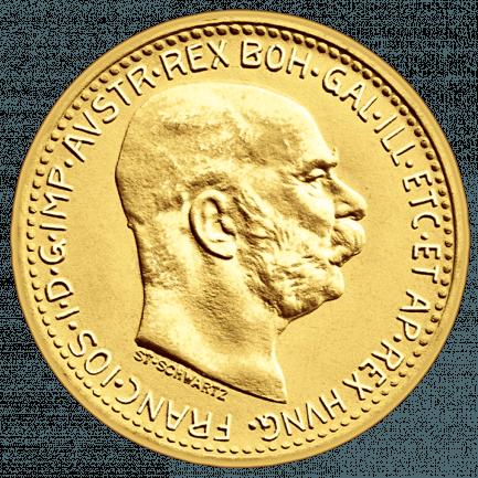10 Kronen Goldmünze Nachprägung Historischer Münzen