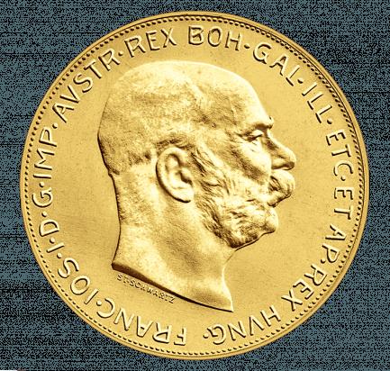 100 Kronen Goldmünze Nachprägung Historischer Münzen