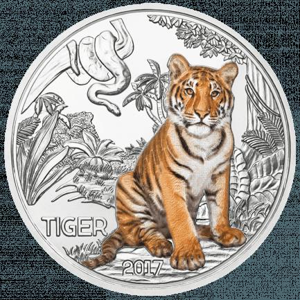 3 Euro Tier Taler Der Tiger