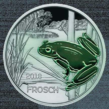 3 Euro Tier Taler Der Frosch