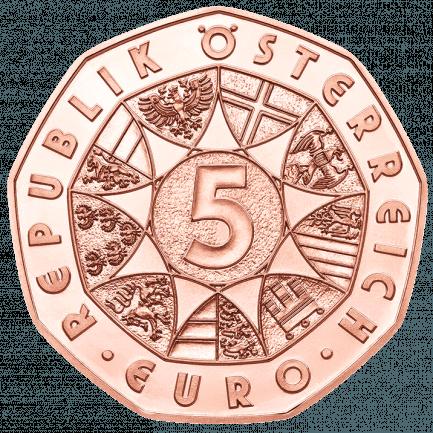 Neujahrsmünze 2019 Lebensfreude Kupfermünze