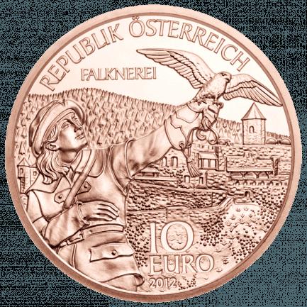 10 Euro Münze Kärnten In Normalprägung Kupfer