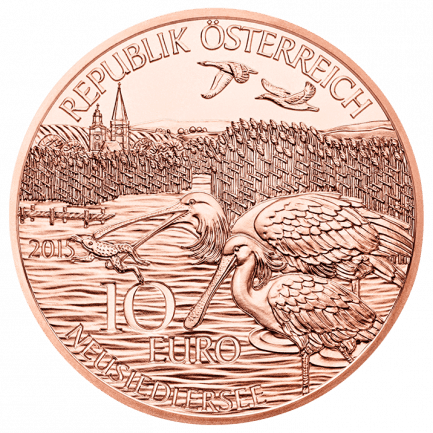 Burgenland 10 Euro Kupfermünze Normalprägung