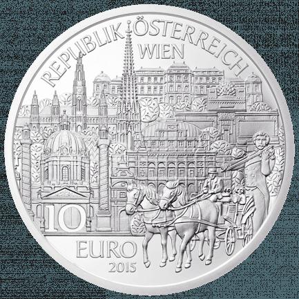 österreich Aus Kinderhand 10 Euro Wien Münze Aus Silber