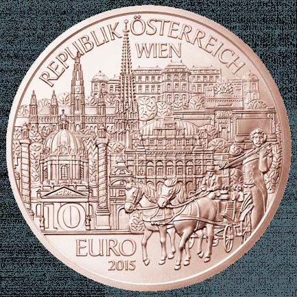 10 Euro Münze Wien Als Kupfer Normalprägung Zum Nennwert