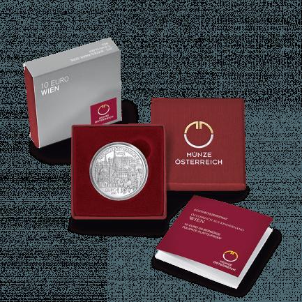 Silbermünze Wien Die 7 Bundesländer Münze Für Sammler