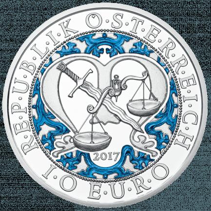 10 Euro Silbermünze Michael Der Schutzengel