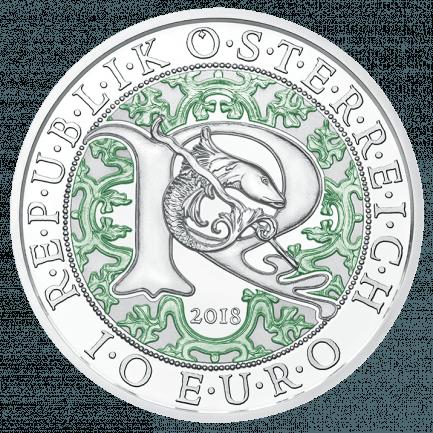 10 Euro Silbermünze Raphael Der Heilungsengel