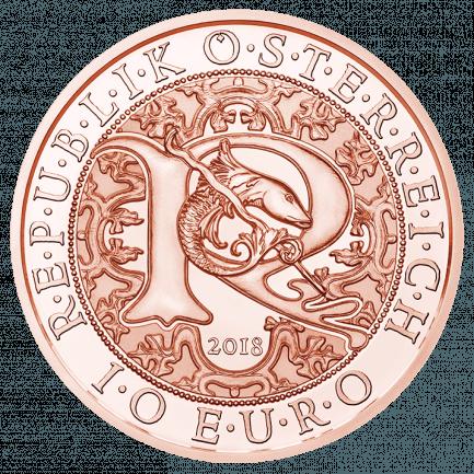 10 Euro Kupfermünze Raphael Der Heilungsengel