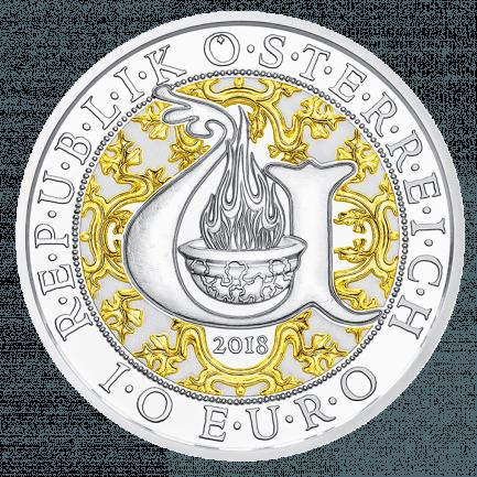 Uriel Der Lichtengel 10 Euro Silbermünze Polierte Platte Proof
