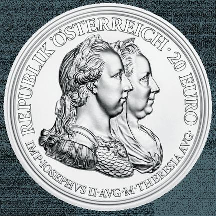 20 Euro Silbermünze Weisheit Und Reformen Maria Theresia