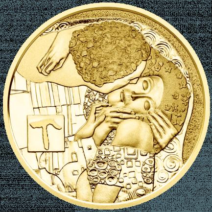 50 Euro Klimt Goldmünze Der Kuss Bei Münze österreich