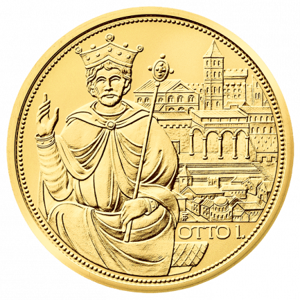 Gold Coin The Crown of the Holy Roman Empire
