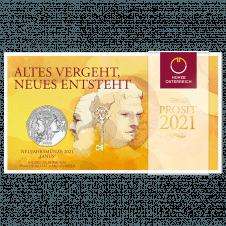 Janus new year coin 2021