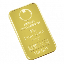 20 gramme gold bar