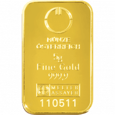 5 gramme gold bar