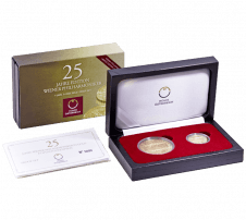 25th Anniversary of the Vienna Philharmonic gold coin