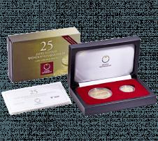 25 Jahre Wiener Philharmoniker in Gold