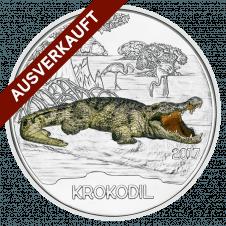 3-Euro-Tier-Taler, Das Krokodil