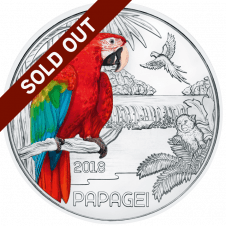 colourful creatures the parrot sold out