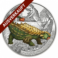 3 Euro Super Saurier Ankylosaurus
