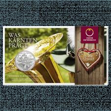 Kärnten 10 euro coin 2012