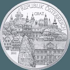 10-euro coin 2012 Steiermark avers