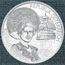 10-euro coin 2013 Vorarlberg avers