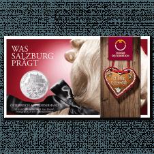 10-euro coin 2014 Salburg Blister