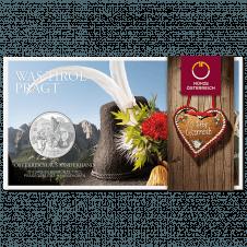 10-euro coin 2014 Tirol Blister