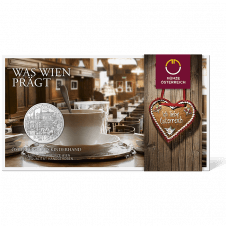 10-euro coin 2015 Wien Blister