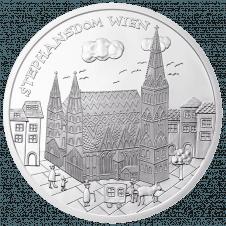 10-euro coin 2015 Wien revers