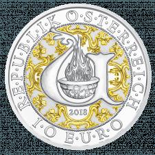 10 Euro Uriel, Silber, PP, AV