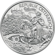 Silver Coin Richard the Lionheart in Duernstein