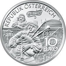 10-euro coin 2011 Augustin avers