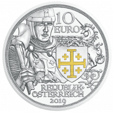 10 euro silver coin adventure proof averse