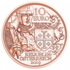 10 euro copper coin adventure averse