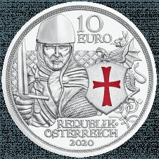 10 Euro Silbermünze Tapferkeit