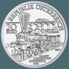20 Euro coin 2007 Südbahn