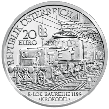 Electric Railway Silver Coin