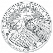 20 Euro silver coin The Advent of Powered Flight