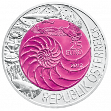 25-euro coin 2012 bionics obverse