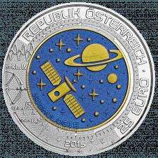 25-euro coin 2015 cosmology obverse