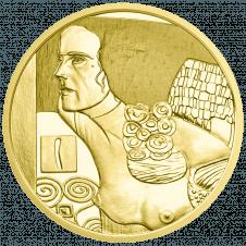 50-euro coin 2014 Klimt reverse
