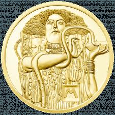 50-euro coin 2015 Klimt reverse