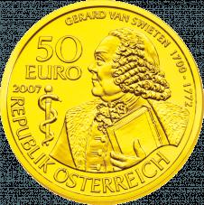 Gold Coin Gerard van Swieten